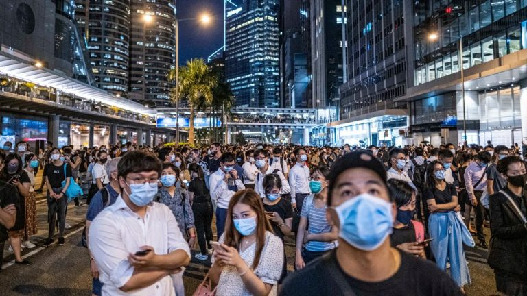 More Unrest as Hong Kong Protesters Defy Mask Ban – Video