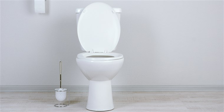 How to fix a clogged toilet with a bucket of water instead of a plunger