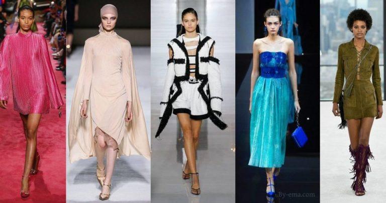Spring/Summer 2020 fashion trends
